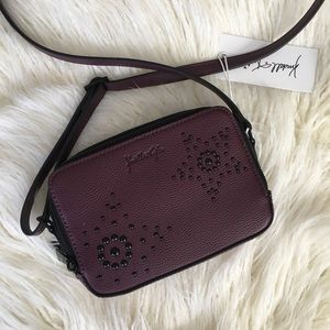 NWT KENDALL & KYLIE CROSSBODY BAG BURGUNDY WINE